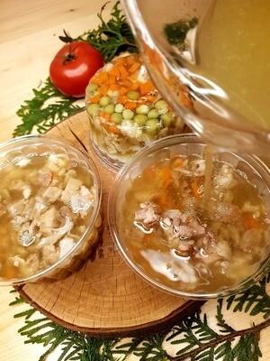 Galaretki drobiowe lub wieprzowe