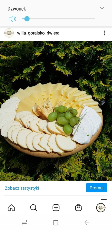 Deska serów - zestaw duży