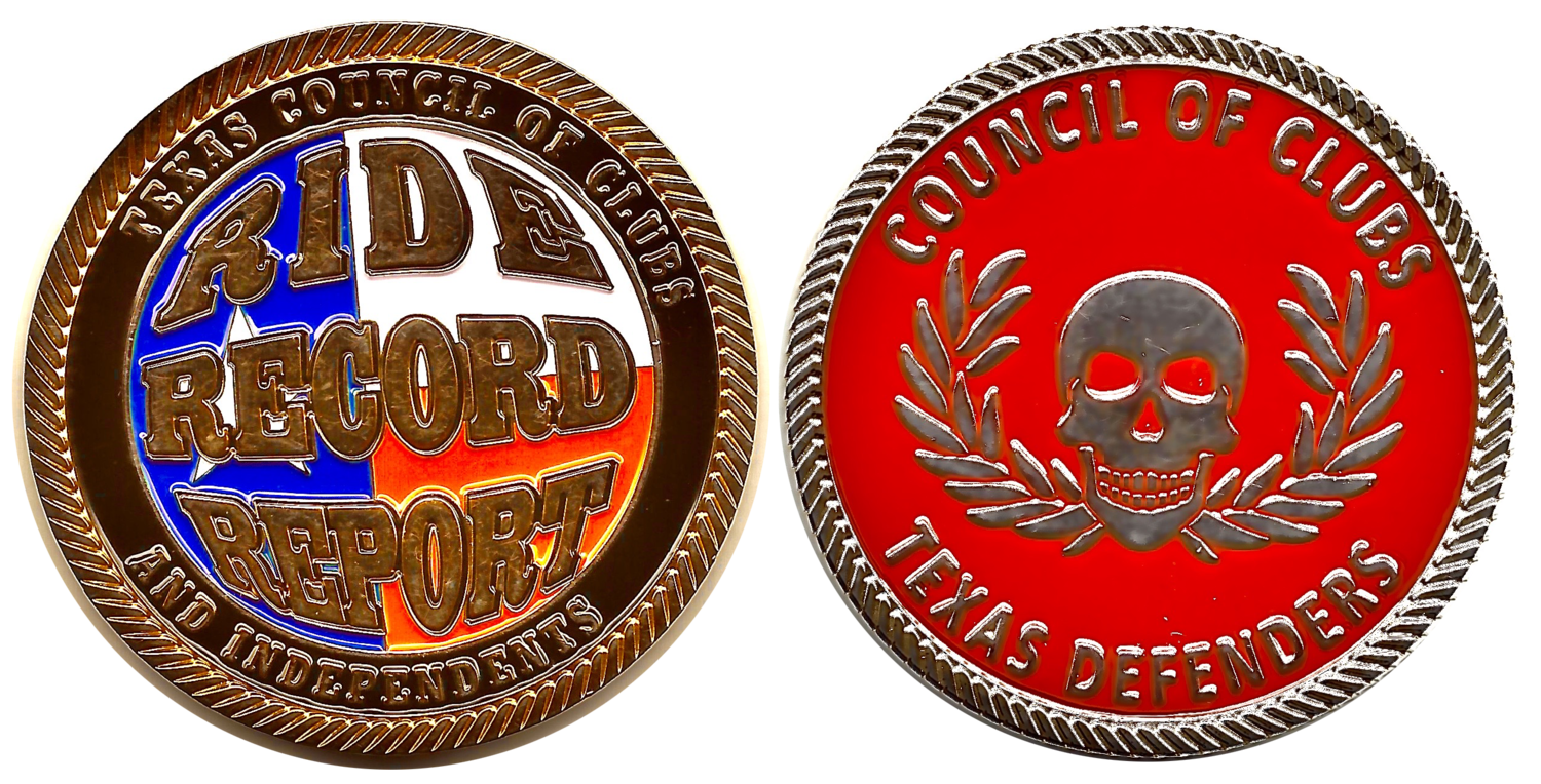 TX COC&I Challenge Coin
