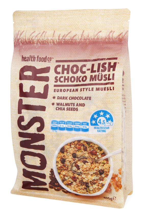 6 x 405g - Wheat Free - Muesli - Choc-Lish