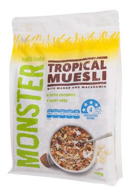 6 x 700g - Muesli - Mango & Macadamia - Tropical