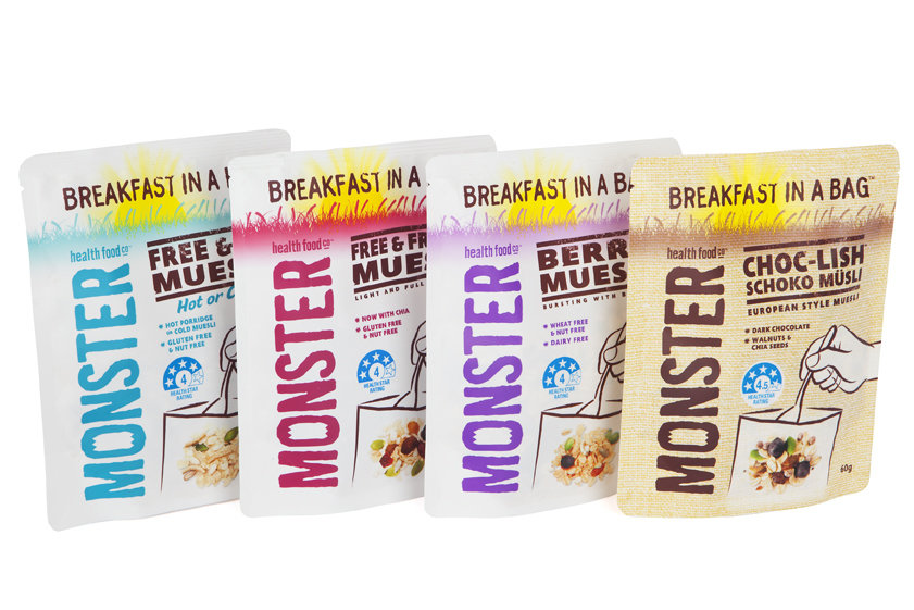 10 x 60g - Wheat Free Muesli - Taste Tester