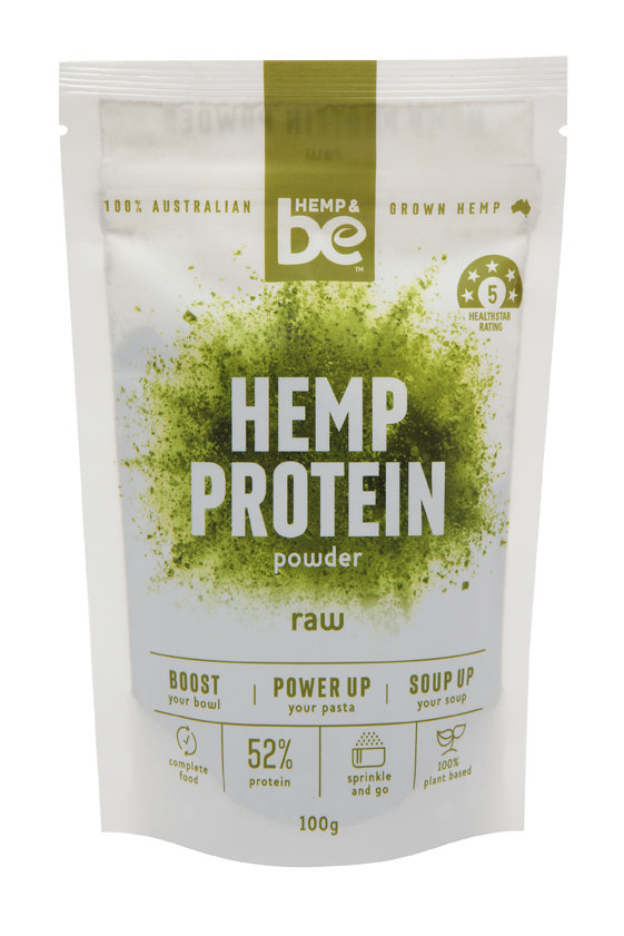 HEMP & be - Hemp Protein - Raw - 100g