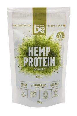 HEMP & be - Hemp Protein - Raw - 100g