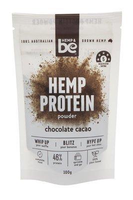 HEMP & be - Hemp Protein Powder - Chocolate Cacao - 100g