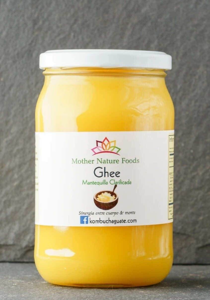 MANTEQUILLA MOTHER NATURE FOOD, GHEE, GRASS FED & ORGÁNICO, 16 OZ