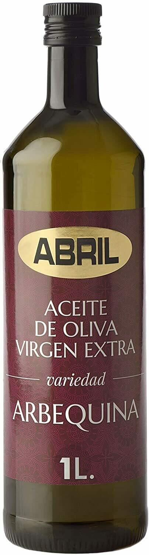 ACEITE EXTRA VIRGEN ACEITUNA ARBEQUINA, ABRIL PET 1LT, JAEN ESPAÑA