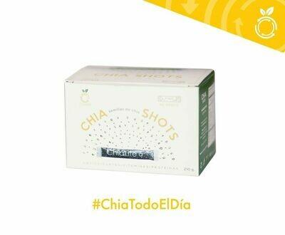 CAJA DE CHIA SHOTS 42 SOBRES, 210 GR