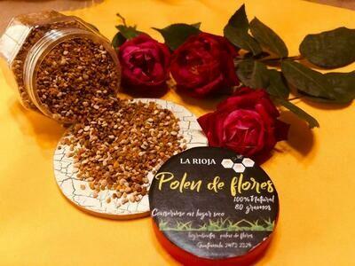 POLEN PURO 100% NATURAL, LA RIOJA (RETALHULEU), 80 GR