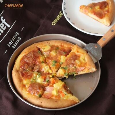 Molde Redondo Pizza Para Hornear Antiadherente 9
