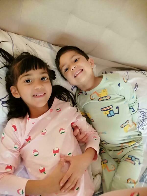 Pijama De Algodón Para Niño Yj20666,