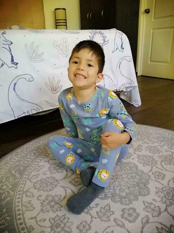 Pijama De Algodón Para Niño H716/Tz137