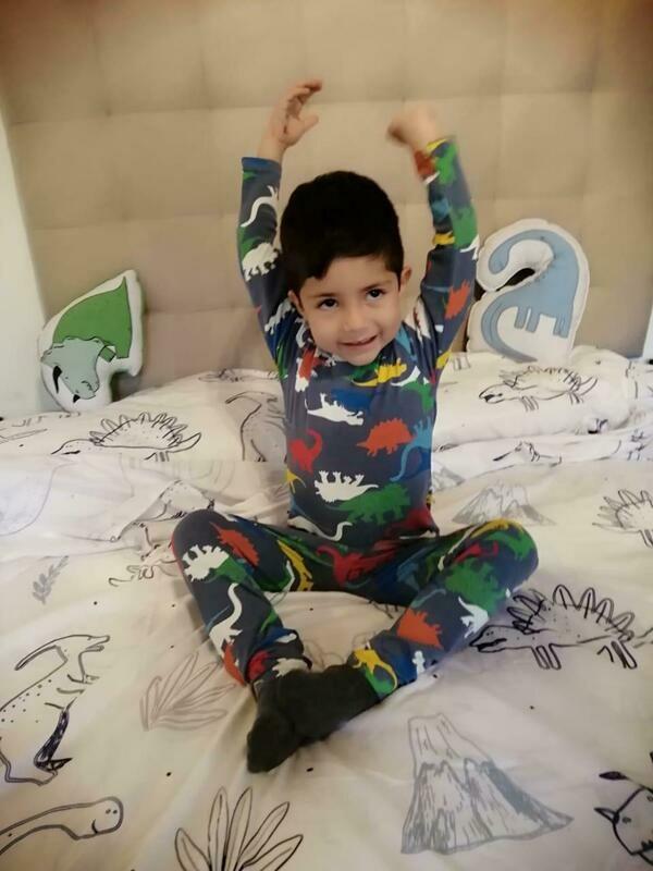 Pijama De Algodón Para Niño Yj20634