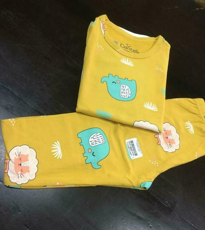 Pijama De Algodón Para Niño Yj20629