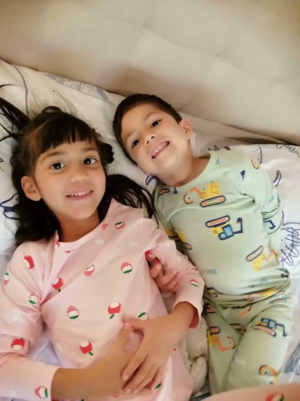 Pijama De Algodón Para Niña Cantel Sleep Yj20628,