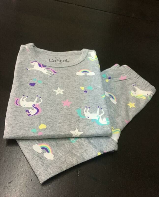 Pijama De Algodón Para Niña Cantel Sleep H716/Tz132,