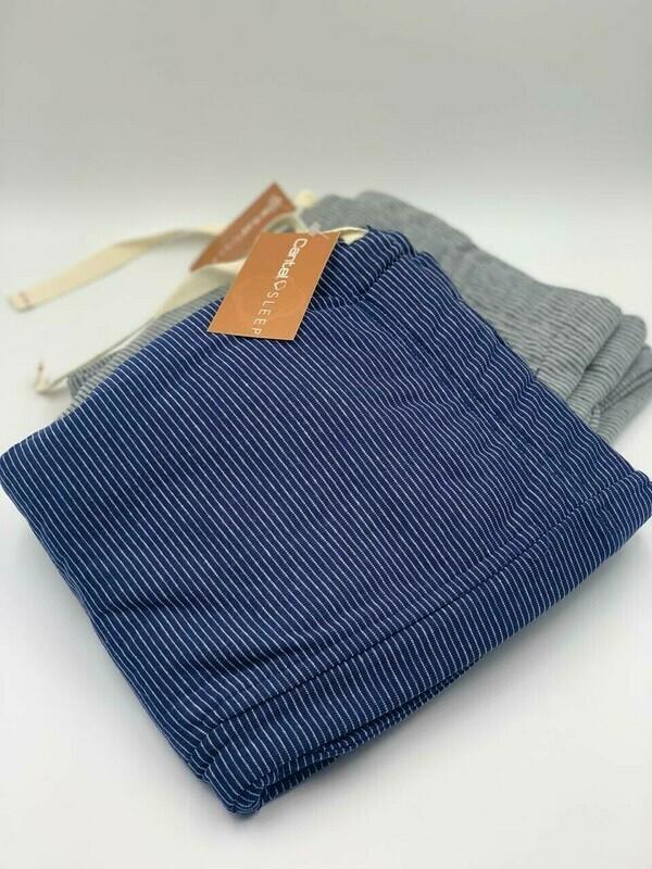 Short Pijama Cantel Sleep Caballero 35%Alg/65%Pol  Azul Línea