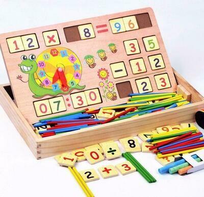 Juguete De Madera Multifuncional Y Aprendizaje