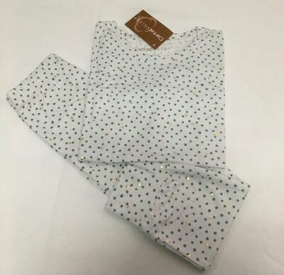Pijama Cantel Sleep Niñas Pantalón Y Camiseta ML Algodón Puntosverde&Puntosfoil 2020