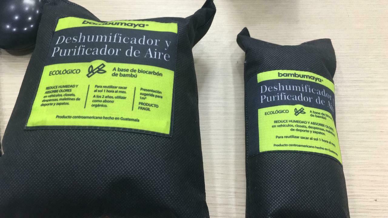 Limpieza Bolsa Bambumaya Deshumificador 8 oz