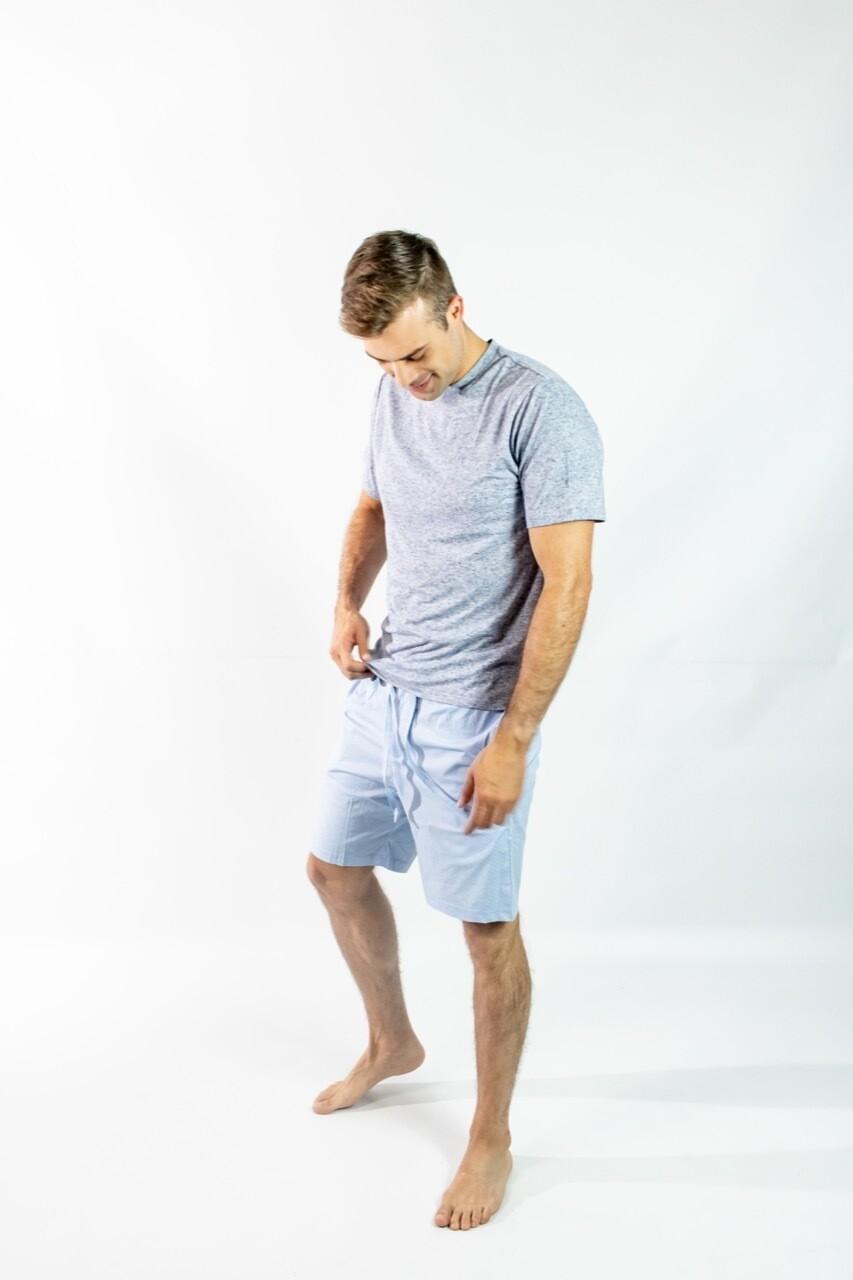 Camiseta Mc Pijama Cantel Sleep Caballero Gris Verano 2021