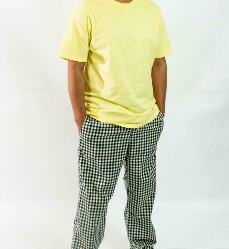 Camiseta Mc Pijama Cantel Sleep Caballero Amarillo Verano 2021