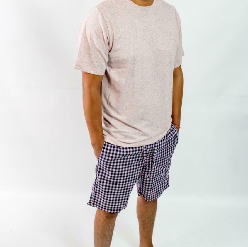 Camiseta Mc Pijama Cantel Sleep Caballero Rosa Verano 2021