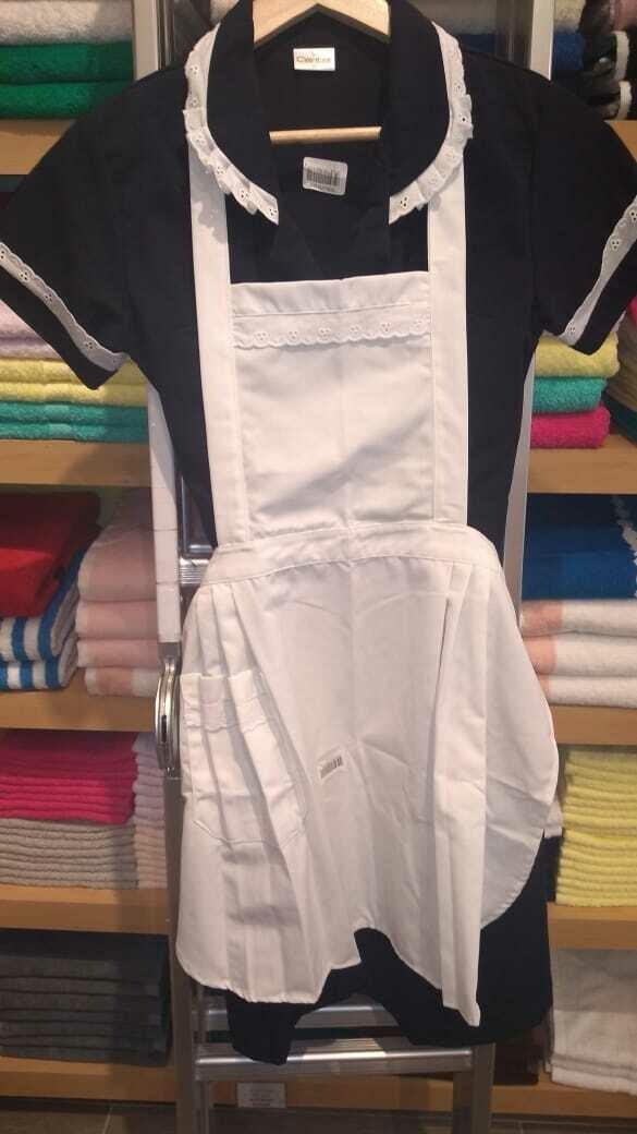 Gabacha para uniforme Supratel Blanco con tira Standard