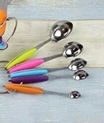 Set De 5 Cucharas Medidoras Multicolor
