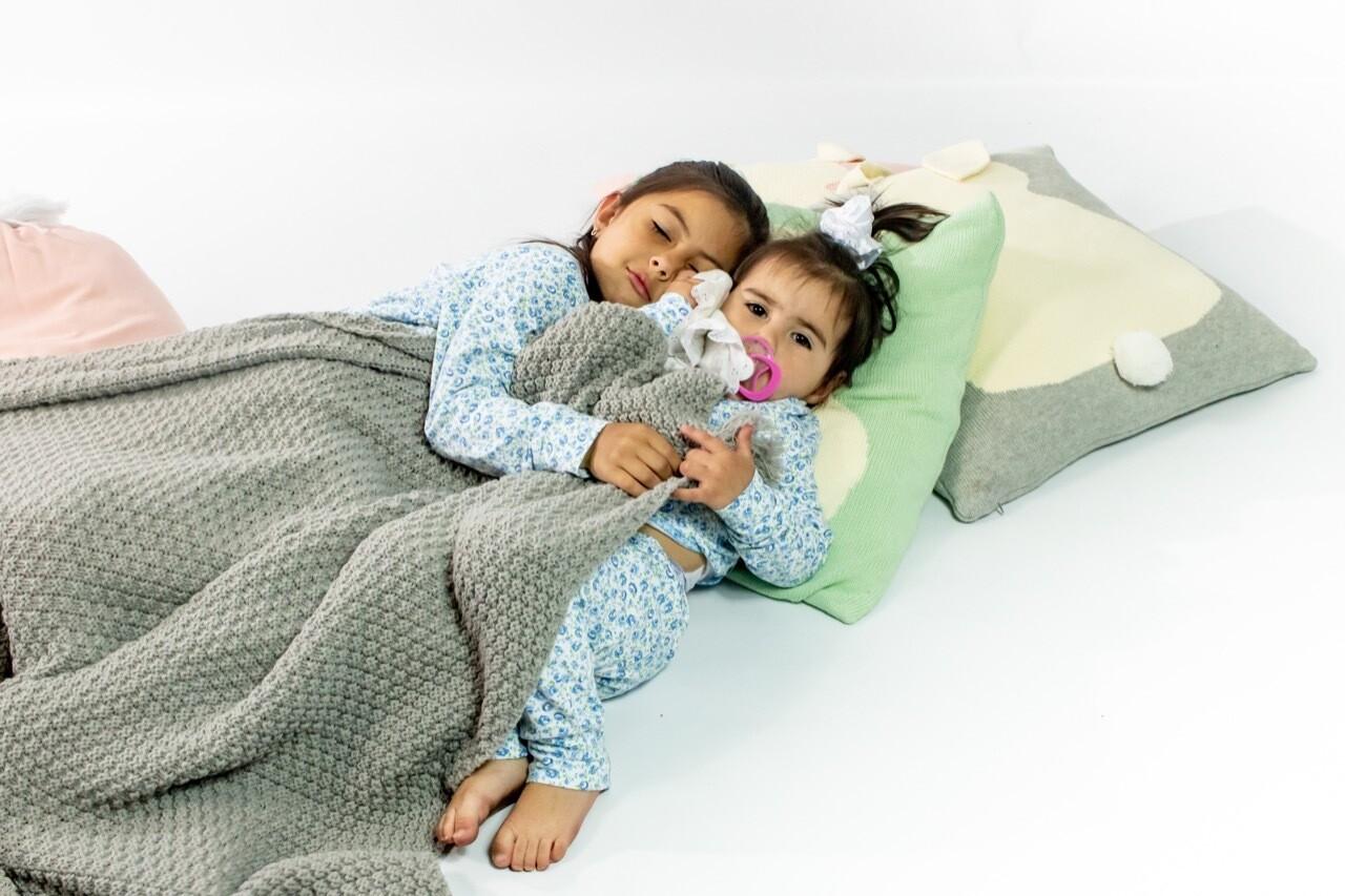 Pijama Cantel Sleep Niñas Pantalón Y Camiseta Ml Floral Azul Verano 2021