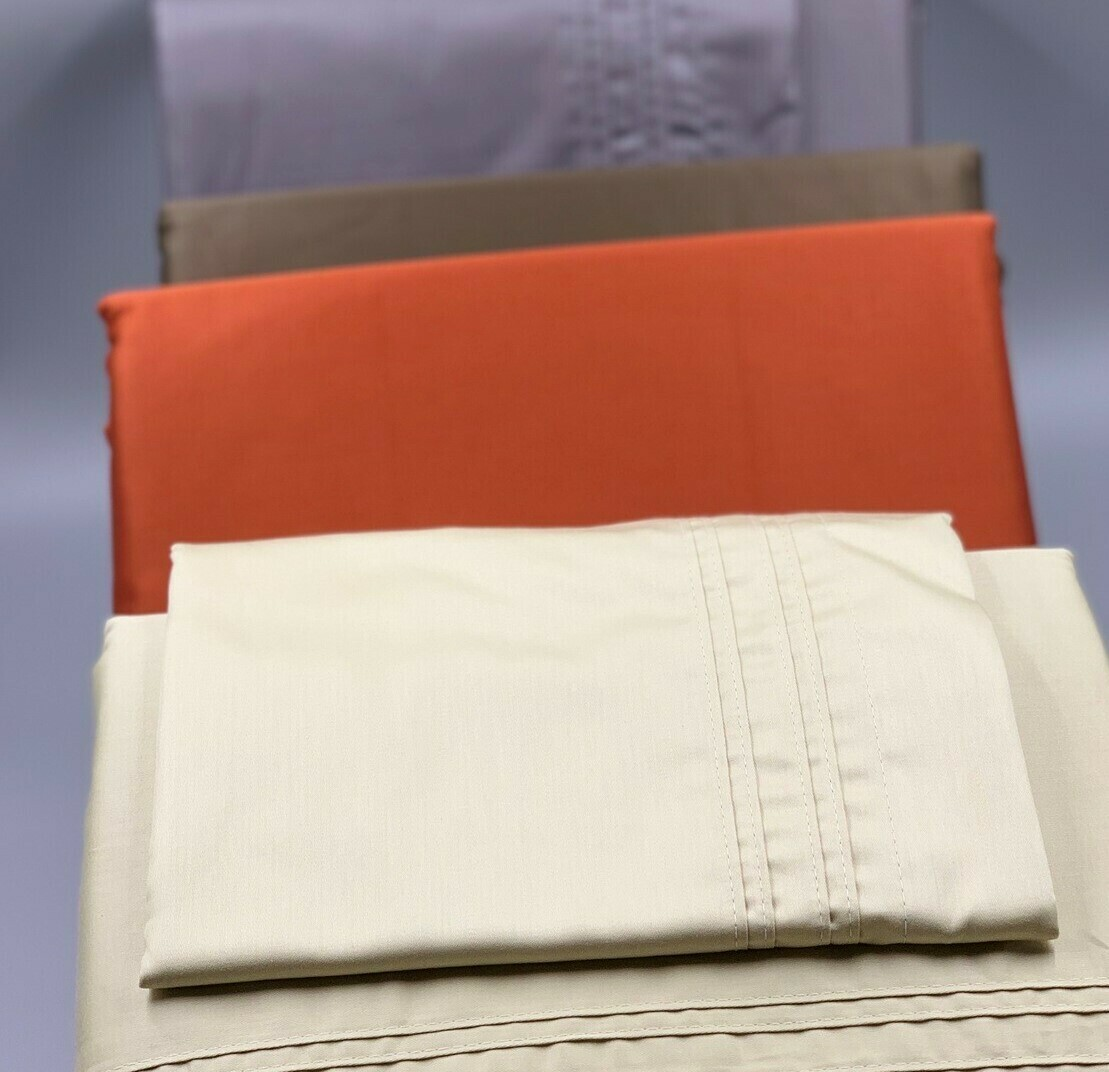 Funda para almohada de 300 th 100% algodón satín