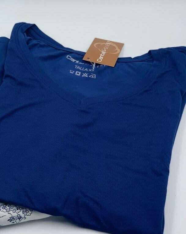 Camiseta ML Pijama Cantel Sleep Caballero Azul Invierno