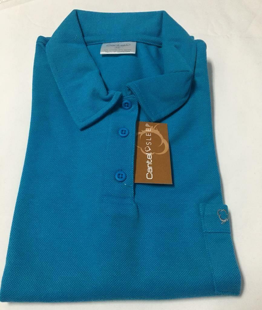 Camisa Polo Para Empleada Del Hogar Color Celeste