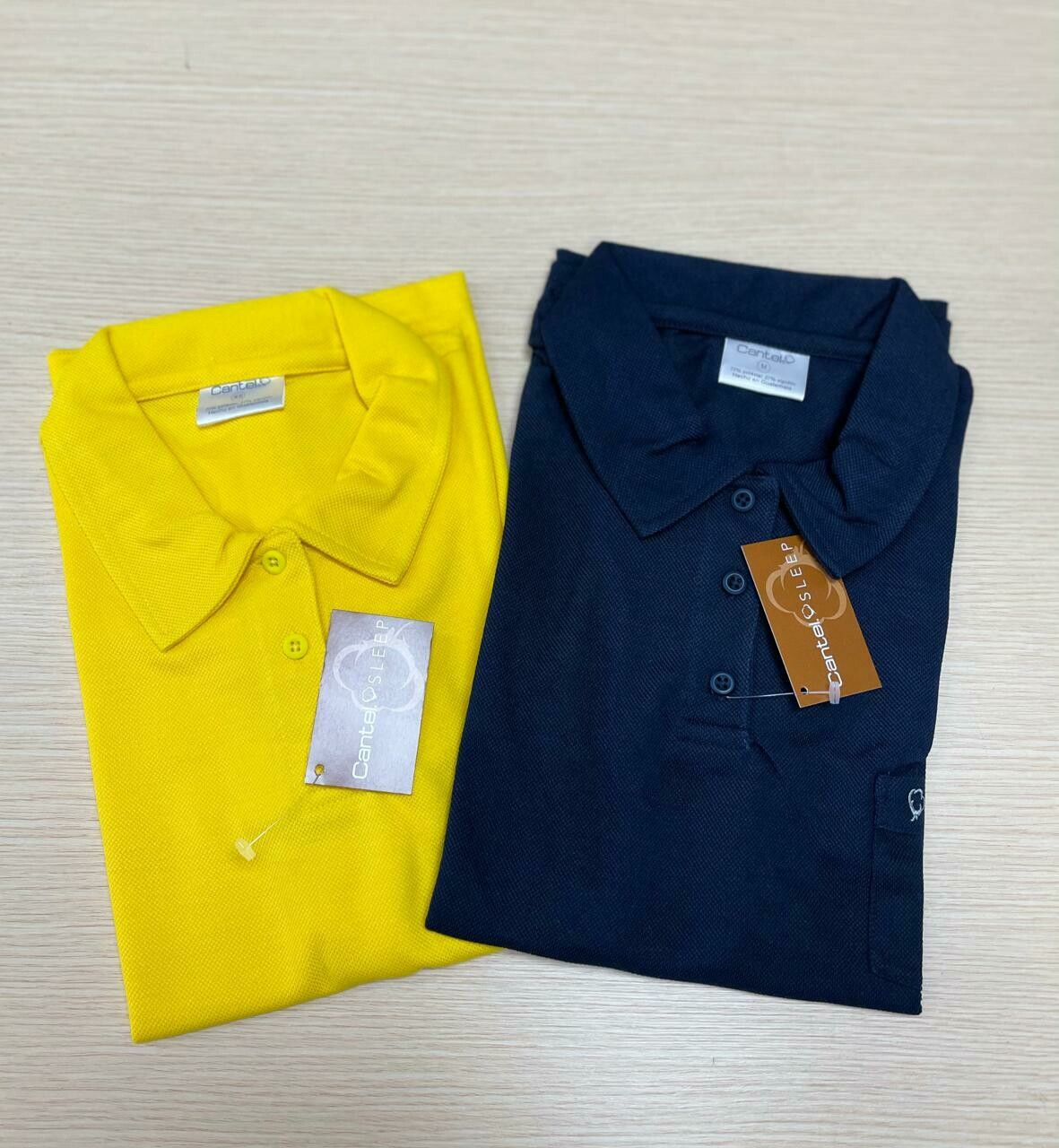 Camisa Polo Para Empleada Del Hogar Color Amarillo
