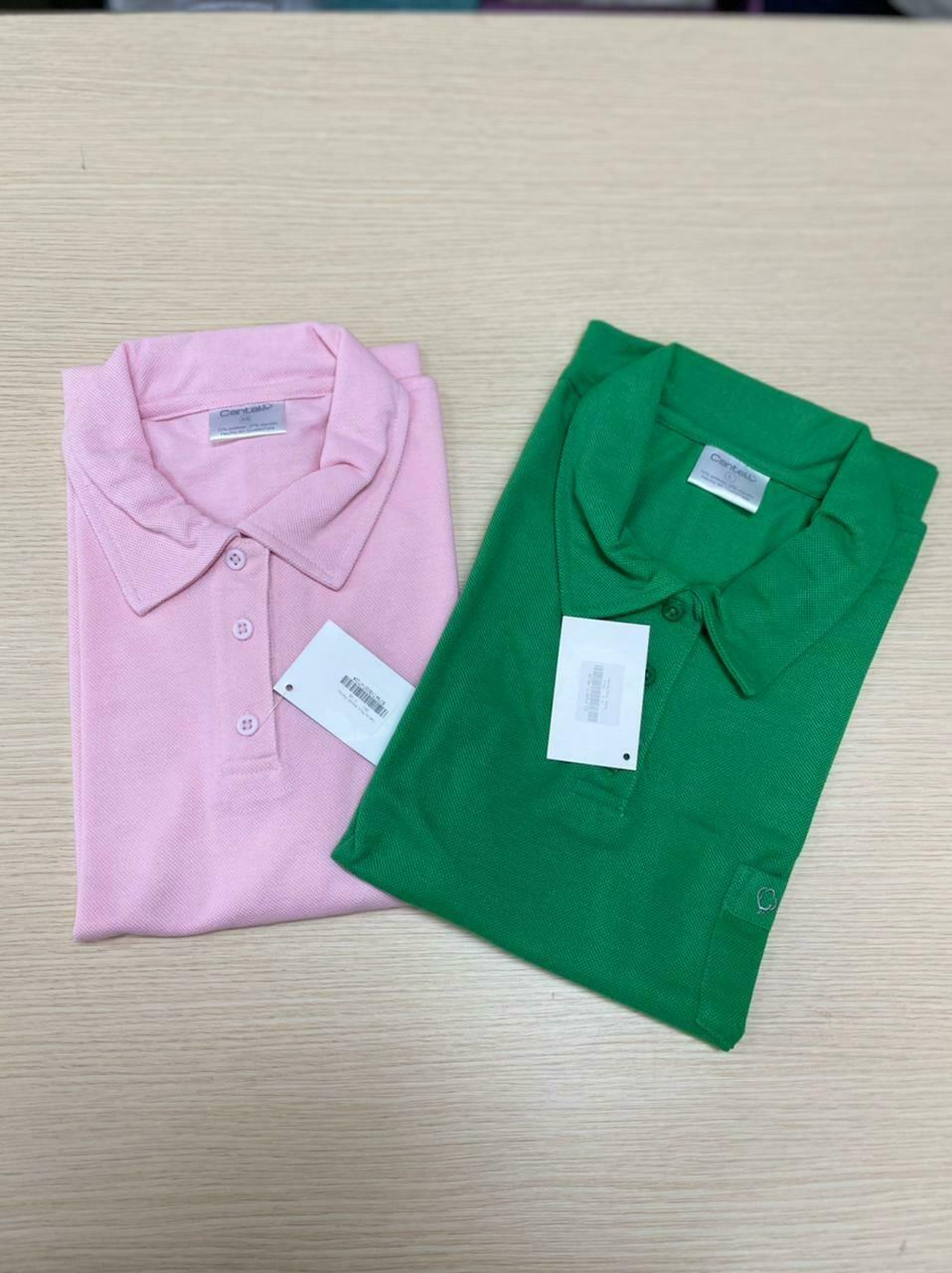 Camisa Polo Para Empleada Del Hogar Color Rosado Pastel