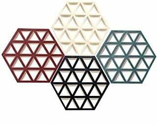 Set De 6 Posavasos De Silicona Geometricos