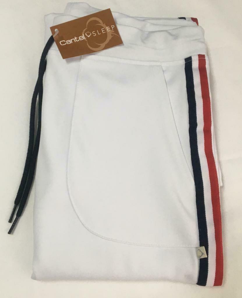 Pants Pijama Cantel Sleep Caballero Gimnastic Blanco Verano 2021