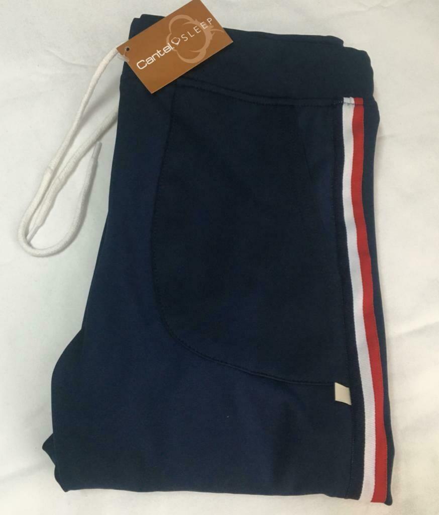 Pants Pijama Cantel Sleep Caballero Gimnastic Azul Marino Verano 2021