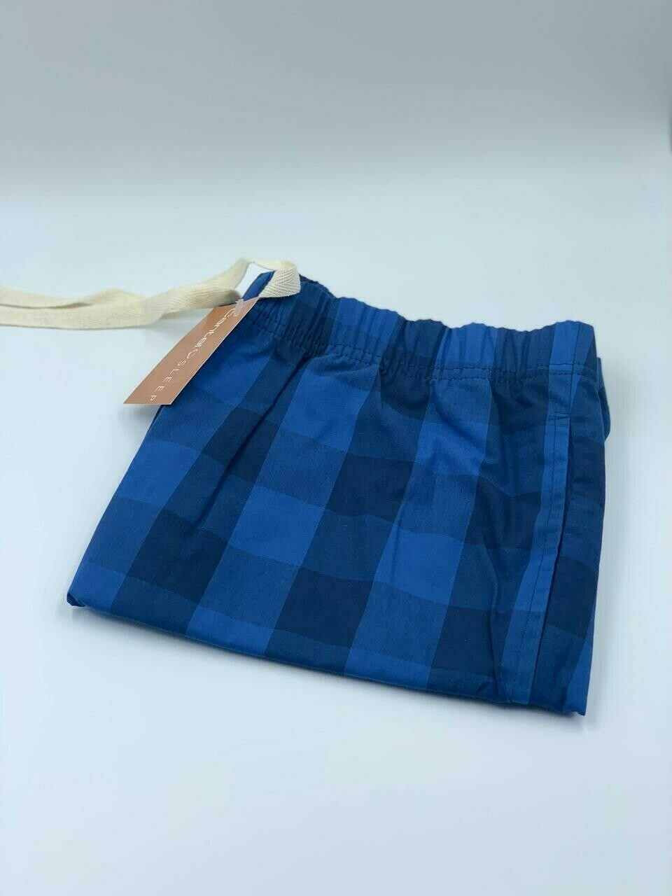 Pantalón Pijama Cantel Sleep Caballero cuadros Azul