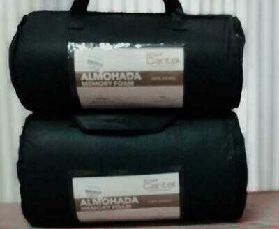 Almohada 240 Gsm Bambú/Poly Con Memory Foam