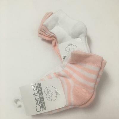Set De 3 Calcetas Para Bebé Niña M002 2021