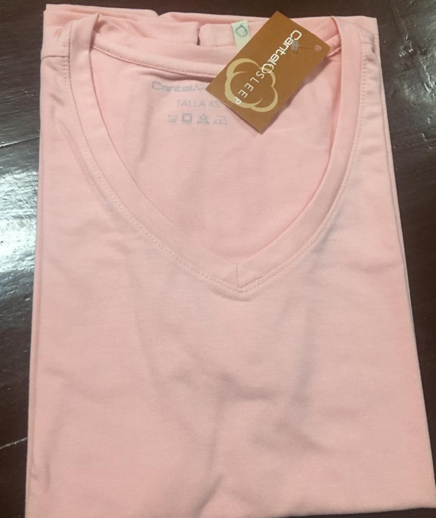 Blusa Mc Pijama Cantel Sleep Keira Dama Otoño 2021 Color Rosa Pastel
