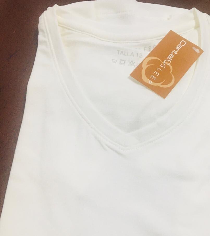 Blusa Mc Pijama Cantel Sleep Keira Dama Otoño 2021 Color Blanco