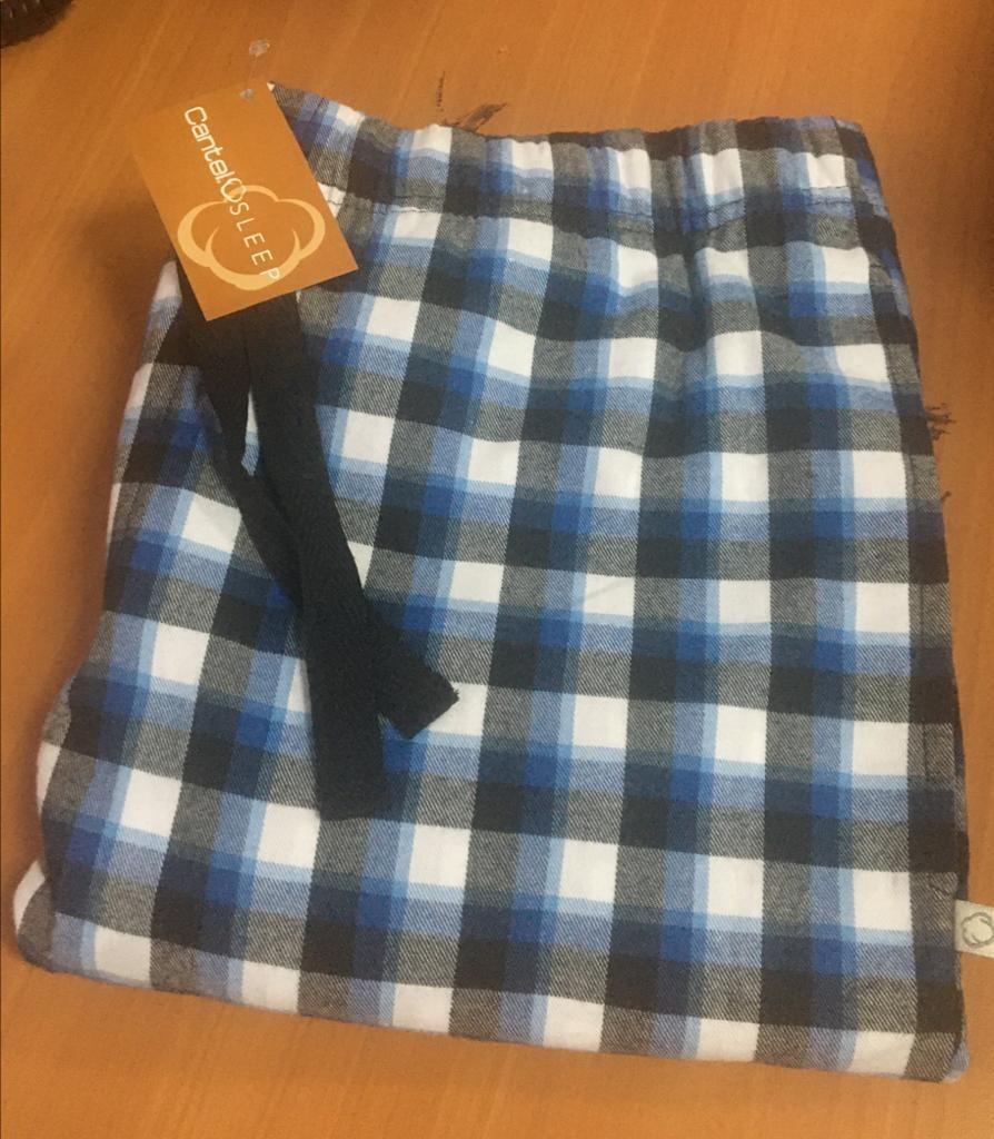 Pantalón Pijama Cantel Sleep Caballero Cuadros