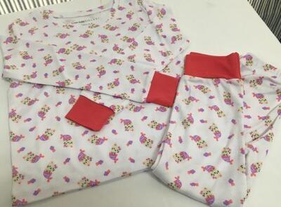 Pijama Cantel Sleep Niñas Pantalón Y Camiseta Ml Mou Cat