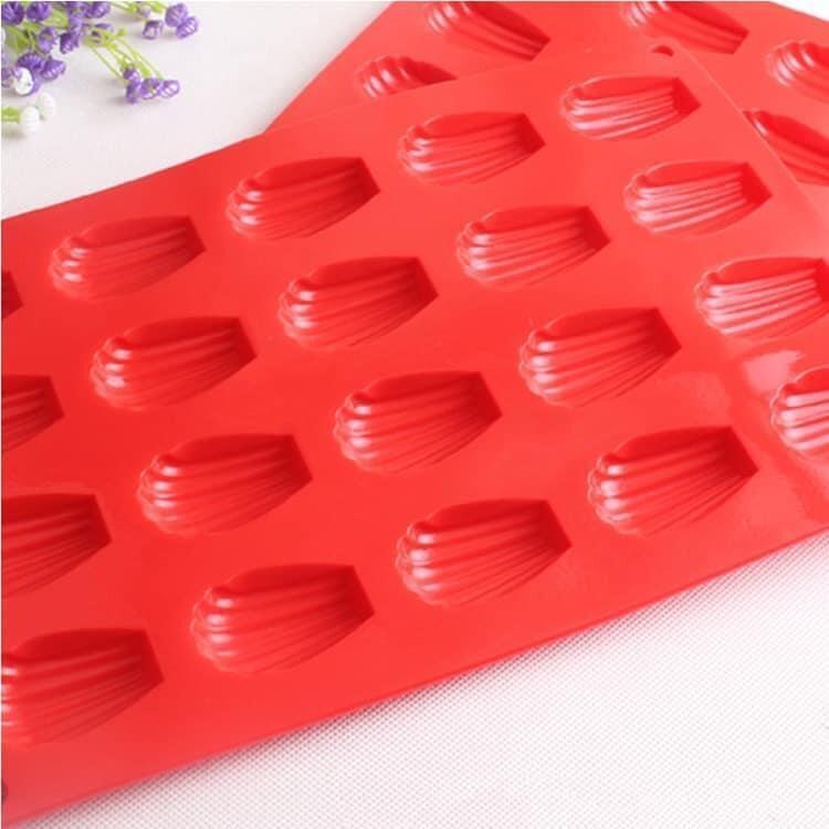 Molde De Silicona Para Galletas Color Rojo 20 Divisiones Ho-006 50*40*39Cm