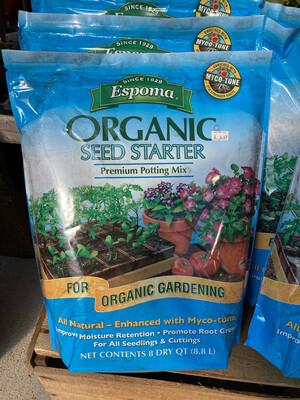 Organic Seed Starter 8qt