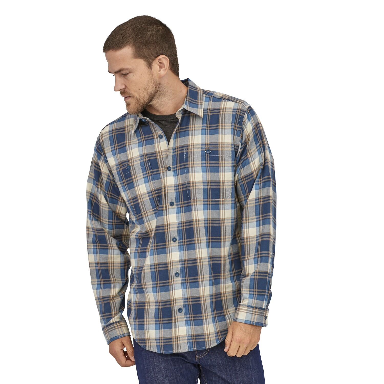 PATAGONIA L/S Pima Cotton Shirt M