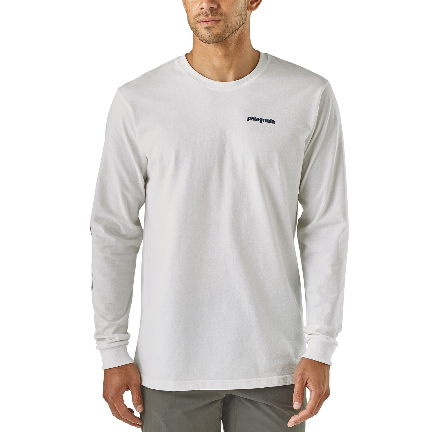 Patagonia Long Sleeve Text Logo Resp-T M