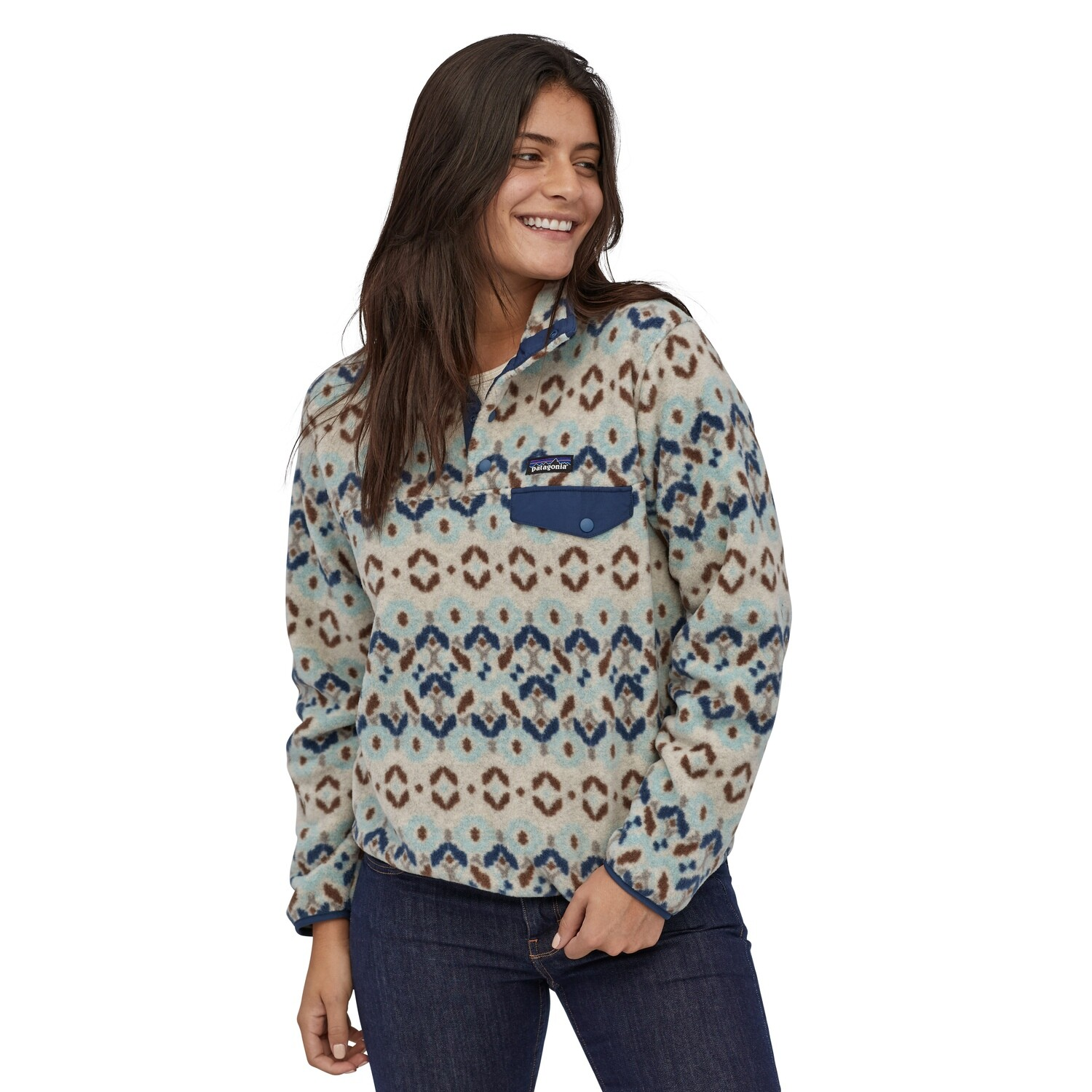 PATAGONIA LW Synch SnapT P/O